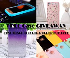 Just Repin This Post and Order Your Favorite Case!  Grabs Yours Now!!!! (Limited Time) ‪#‎giveaway‬ http://www.icase4you.com/collections/iphone-case-free-giveaway-1