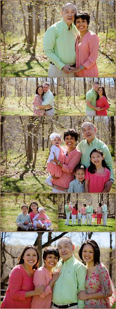 Extended Family Portrait Session in Scotch Plains, New Jersey   Photos by Carolyn Ann Ryan Photography