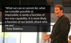 Tony Robbins Team Building Quotes
