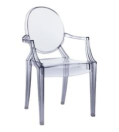 Replica Louis Starck Inspired Ghost Chair Clear New on eBay!