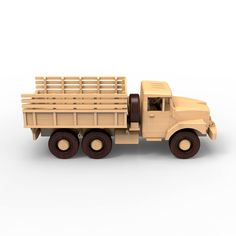 Rusa ZIL-131 carpintería de madera de camiones modelo planes