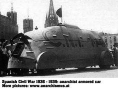Anarchist Armored Car, Spanish Civil War