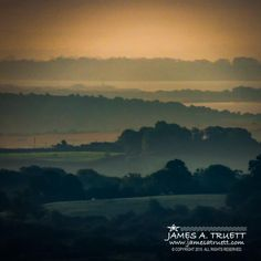 www.jamesatruett.com - Misty Summer Irish Morning in County Clare, #Ireland.