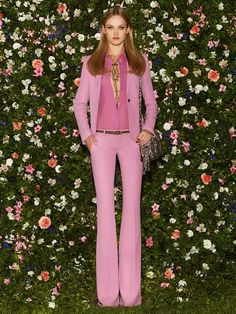 flower wall / Fashion Friday Gucci Resort 2013