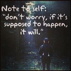 trust the path..
