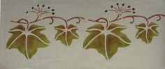 Arts & Crafts Stencils   www.annwallace.com ~ Roller Shade Company