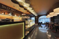 Дизайн интерьеров кондитерской SalDeRiso Санкт-Петербург (100 кв.м.) - Дизайн-студия ICON