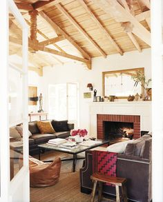 Love this living room by  Nickey Kehoe Design featured on delight by design