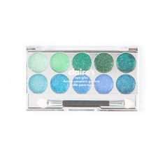 Green and Blue Eye Glitz Palette | Claire's