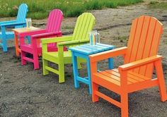 Diy Furniture : Each chair cost five bucks and took 30 min to make! Shows you how to build a set