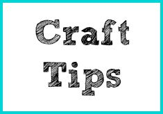Find all sorts of cool crafty tips and tricks...courtesy of Bella Crafts Quarterly.