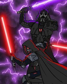 Sith Warrior, Star Wars Cartoon, Darth Bane, Star Wars The Old, Star Wars Sith, Jedi Sith, The Old Republic, Star Wars Fan Art, Star War 3