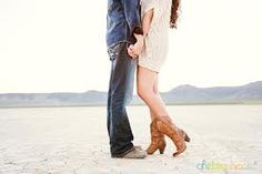 Country Engagement Photo Cute Idea