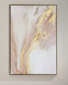 """Heart+Blossom""+Handmade+Giclee+Wall+Art+on+Canvas+at+Neiman+Marcus. art abstract Heart Blossom Handmade Giclee Wall Art on Canvas Art Diy, Diy Wall Art, Framed Wall Art, Canvas Wall Art, Gold Wall Art, Wall Decor, Textured Canvas Art, Large Wall Art, White Canvas Art"
