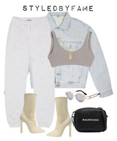 """Untitled #600"" by styledbyfame ❤ liked on Polyvore featuring Carolina Bucci and Balenciaga"