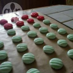 """Peppermint creams - The peppermint extract can be added to taste and does add moisture. These make great pressies for tricky elderly family members who say they want and need nothing as they can be presented in a glass jar with a bow and a """"the kids made these for you""""."""