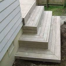 Image result for deck stairs steps