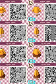 Best Animal Crossing New Leaf Qr Codes Cute Winter Dresses Image