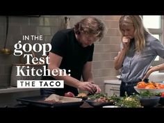 Gwyneth Paltrow and chef Magnus Nilsson (head chef of two-Michelin-star restaurant Faviken and author of Faviken and The Nordic Cookbook) offer two spins on . Goop Instagram, Tostadas, Tacos, Magnus Nilsson, Taco Wraps, Tostada Recipes, Chimichanga, Gwyneth Paltrow, Test Kitchen