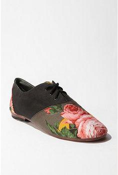 Osborn Floral Oxford Shoe  $99