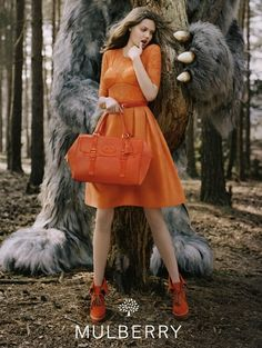 Lindsey Wixon for Mulberry a/w 2012 campaign - photograph by Tim Walker.