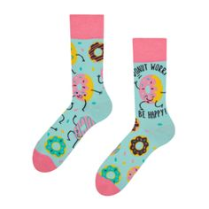 Good Mood, Gift For Lover, Donuts, Socks, Lady, How To Wear, Frost Donuts, Beignets, Hosiery