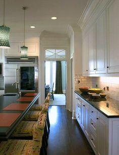 modern kitchen executed in classic style. Meyer Greeson Paullin Benson AIA mgpb.com