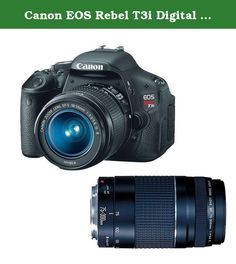 Canon EOS Rebel T3i Digital SLR Camera with 18-55mm and 75-300mm Lenses (discontinued by manufacturer). KIT INCLUDES 2 PRODUCTS -- All BRAND NEW Items with all Manufacturer-supplied Accessories + Full USA Warranties: Canon EOS Rebel T3i Digital SLR Camera Body & EF-S 18-55mm IS II Lens + Canon EF 75-300mm III Lens.
