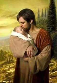 St. Joseph, I never weary of seeing Jesus asleep in thy arms. I dare not approach while He reposes near thy heart. Kiss His fine head for me, and ask Him to return the kiss when I draw my final breath.