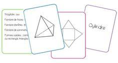 Jeu de cartes sur les solides - La classe de Mallory