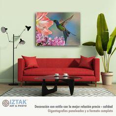 Una imágen puede cambiar la personalidad de tu espacio, hacerlo amable, familiar y cálido Sofa, Couch, Furniture, Home Decor, Personality, Space, Art, Settee, Settee