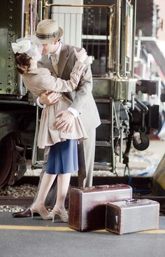 Miami Engagement Photography at Goldcoast Railroad Museum