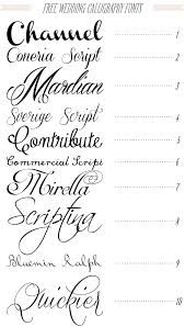 wedding fonts - Google Search