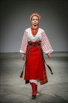 Ukrainian traditional folk costume