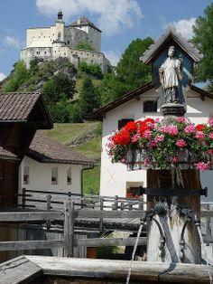 Tarasp Castle - Lower Engadin, Graubünden, Switzerland