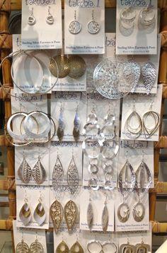 Sterling Silver Takobia Earrings
