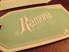 Hang tags by Rocio Cogno