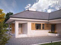 Ambrozja 9 (159,41 m2) to wersja projektu Ambrozja 3 ze zmienionym kątem nachylenia dachu na 30 stopni. Pełna prezentacja projektu znajduje się na stronie: https://www.domywstylu.pl/projekt-domu-ambrozja_9.php. #ambrozja #projekty #dom #projekt #domywstylu #mtmstyl #projektygotowe #architektura #architecture #home #houses