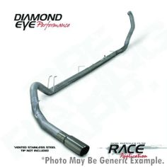 Diamond eye....6.4 dpf delete, down pipe back, 5 inch stainless exhaust.