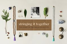 Mala beads - includes a video on how to use them - from the lululemon blog