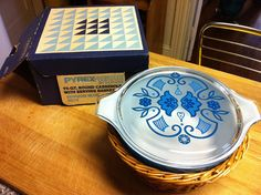 Pyrex Horizon Blue 1-1/2 Qt Promo | Flickr - Photo Sharing!