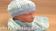 CROCHET HAT WITH SCARF Tutorial 4 Part 1 of 3. http://www.sheruknitting.com/sherufashion/crochet-and-knitting-clothes/item/689-crochet-hat-with-scarf.html  With this video tutorial you will learn how to crochet a summer hat. Follow the tutorial that guides you through each stitch - from the first one till the end of the project.