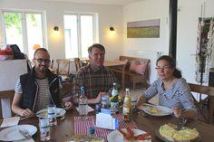 Regionale Genüsse beim gemeinsamen Mittagessen im Hof-Café