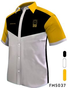 Fadzil Aripin WhatsApp Us Corporate Shirts, Corporate Uniforms, African Clothing For Men, African Men Fashion, Gents Shirts, Barong, The Office Shirts, Work Uniforms, Uniform Design