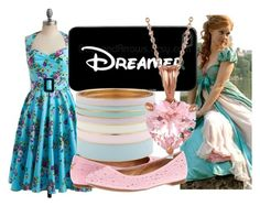 """""""Giselle"""" by dutchveertje ❤ liked on Polyvore featuring Mel by Melissa, Sperry, Samsung, ALDO, Allurez, disney, disneybound, enchanted, Giselle and disneycharacter"""