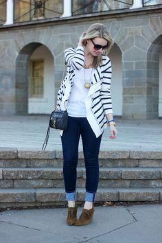 Perfect shoes, great look!