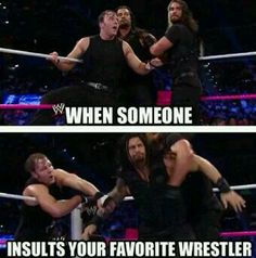 precisely @wweromanreigns @thedeanambrose #sethrollins