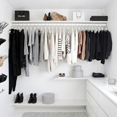 How to properly arrange your fall/winter closet.