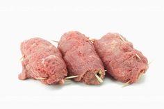 Roladki cielęce z szynką i bazylią Cooking Tips, Steak, Pork, Food And Drink, Beef, Recipes, Kale Stir Fry, Meat