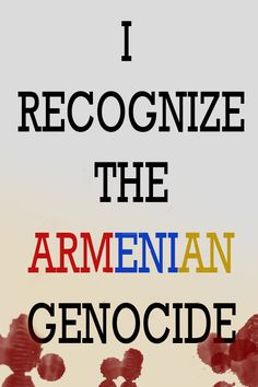 I recognize the Armenian Genocide by RedfieldClaire.deviantart.com on @deviantART